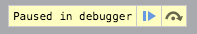 Paused in debugger